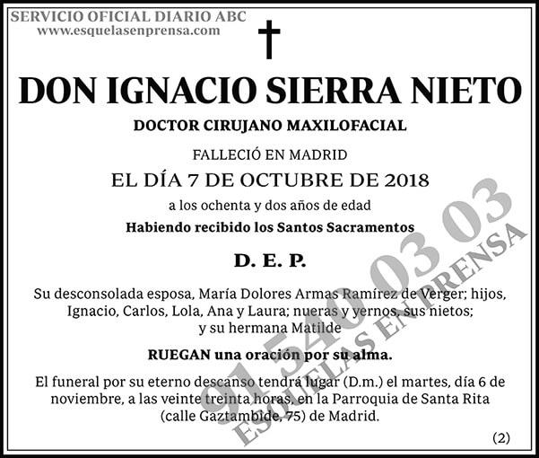 Ignacio Sierra Nieto